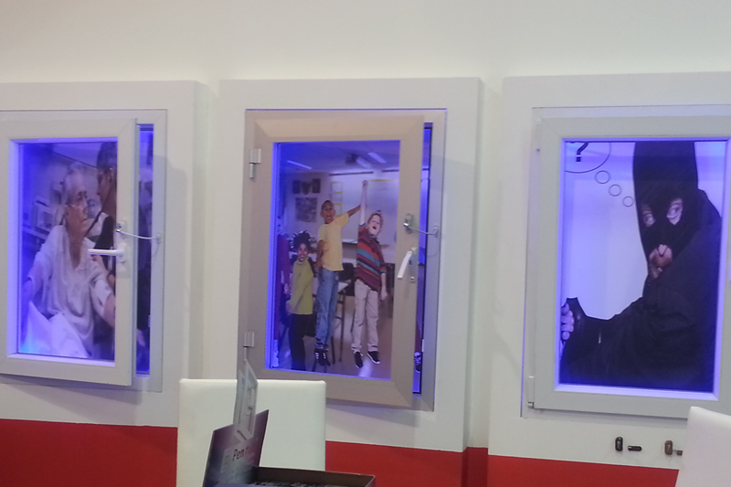 Our stand at Istanbul Window & Door Exhibition 2013
